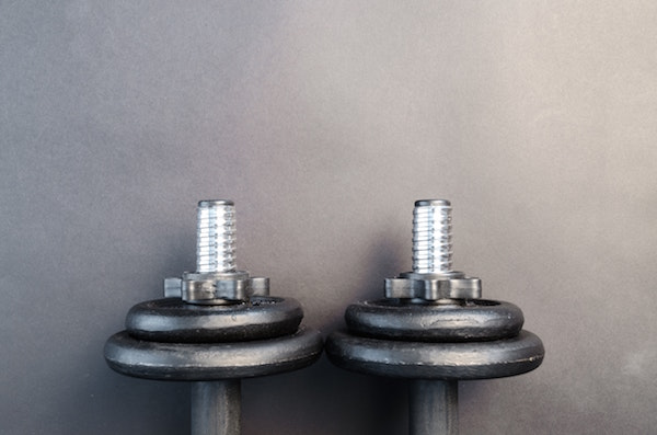 How much do dumbbell bars weigh