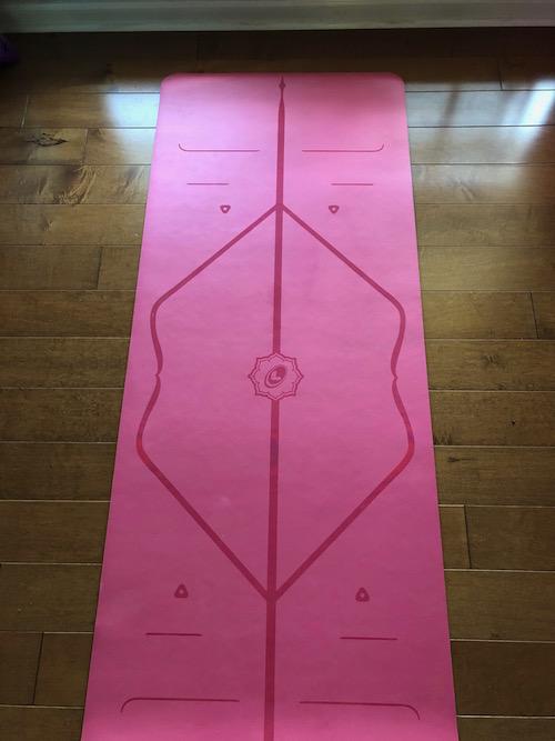The Liforme yoga mat