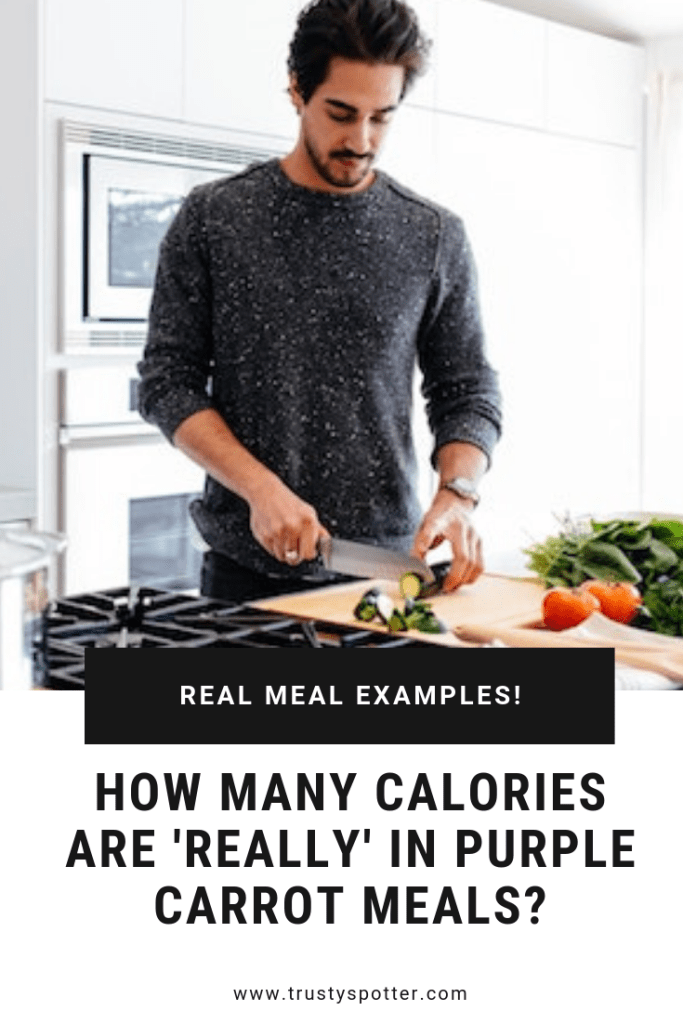 How many calories are in Purple Carrot meals? (Explained)