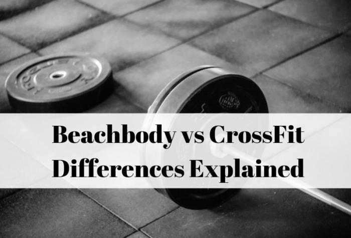 Beachbody P90X vs Crossfit