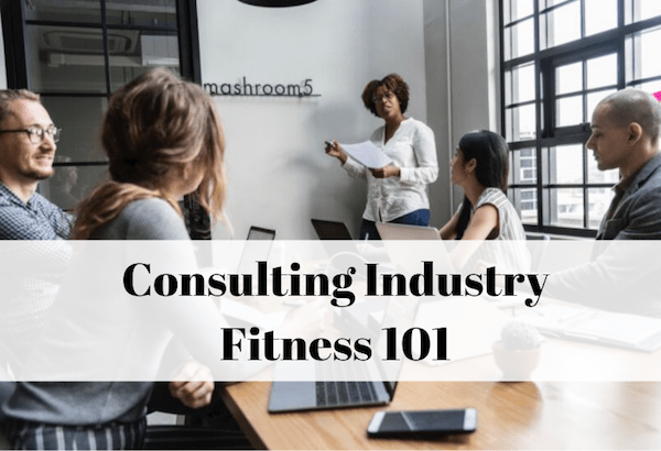 How to stay fit as a consultant
