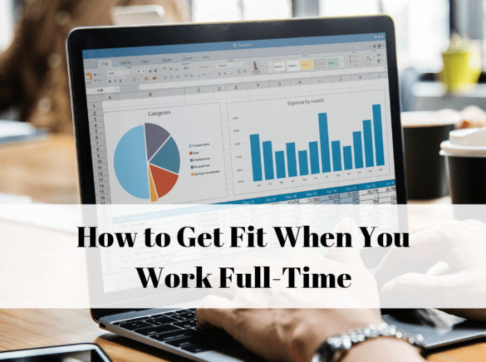 How to workout and go to work