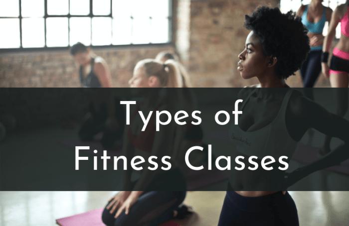 Women at a fitness class