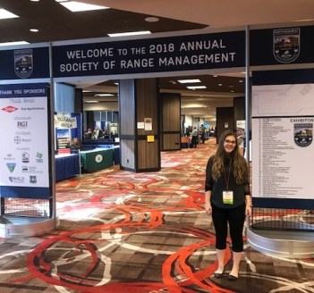 """Attending this conference exposed me to natural resource management on an international level. It also furthered my understanding of science and management systems, in general."""
