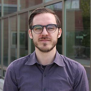 Governance Coordinator Alex McLellan
