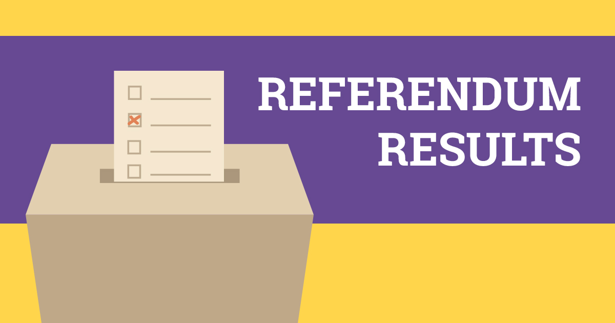 Referendum Results