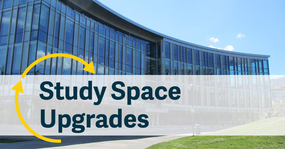 HOL Study Space Upgrades