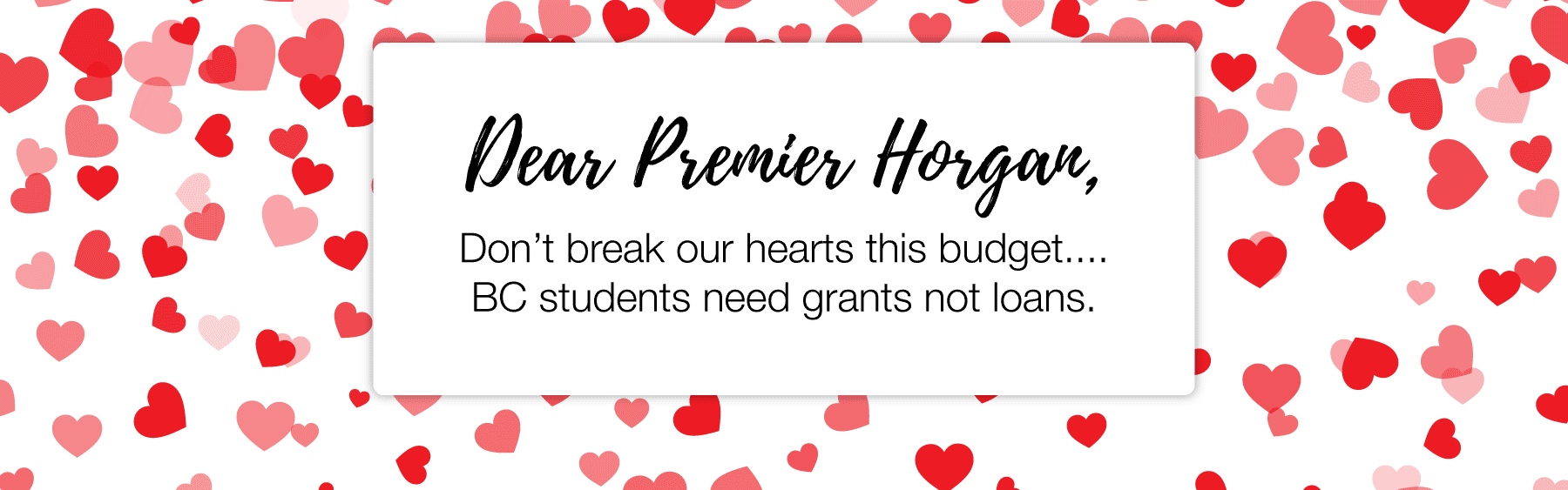 Grant Not Loans Valentines BC