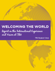 Welcoming the World: Report on the International Experience and Vision at TRU