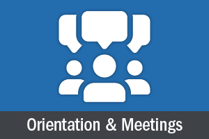 Club Orientation and meetings