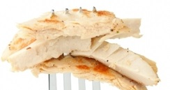 extruded meat Beyond Meat chicken