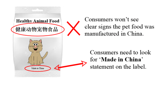 MadeinChinapetfoodlabel