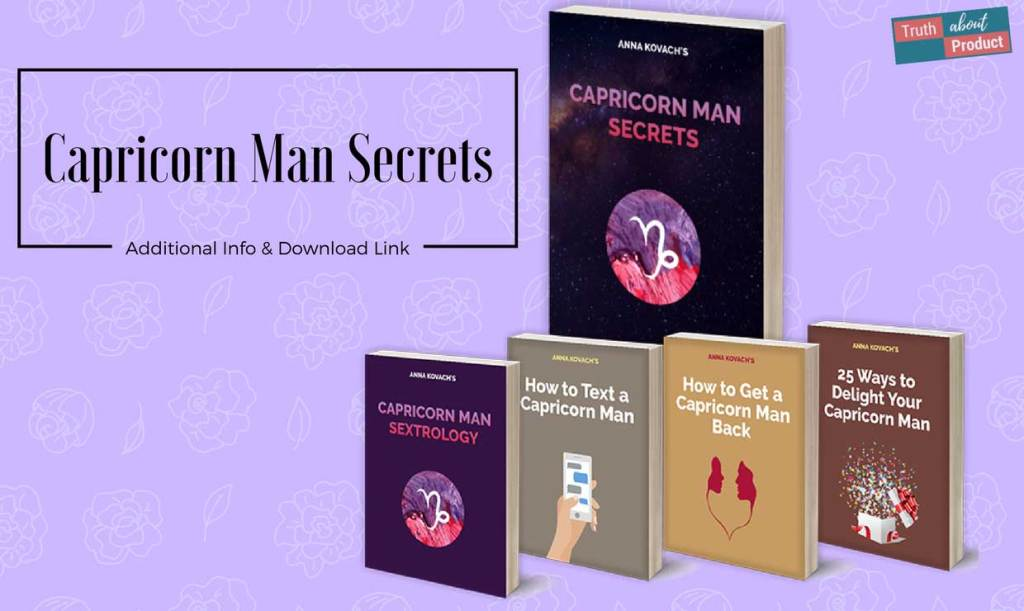 Anna Kovach's Capricorn Man Secrets featured image.