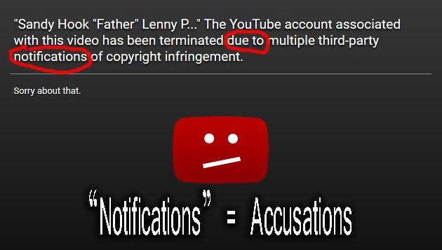YouTube copyright claim