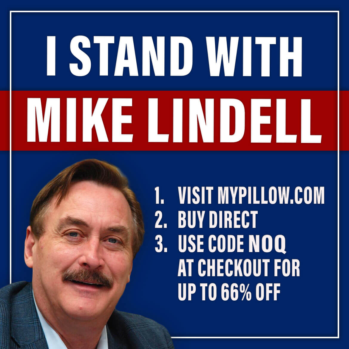 MyPillow I Stand With Mike Lindell