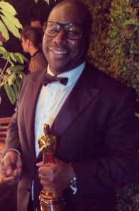 "Steve McQueen. Director, writer, producer. ""12 Years a Slave."""