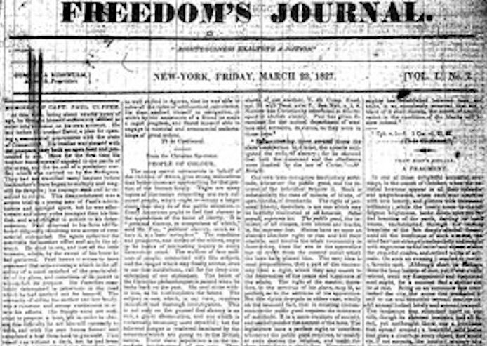 Freedom's Journal and the Birth of the Black Press
