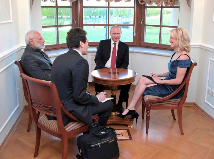 Kelly interviewing Putin