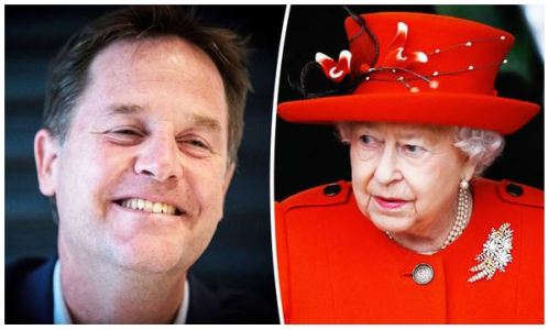 Clegg and queen