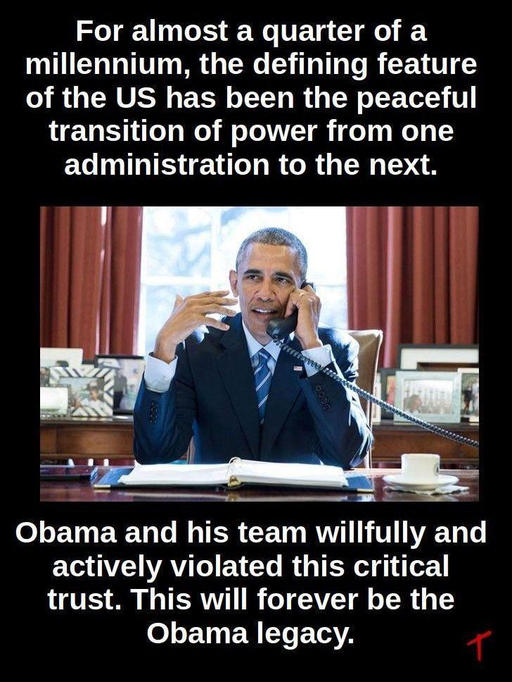 obama transition of power