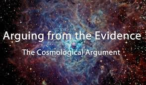 arguing from the evidence in cosmology