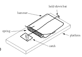 Parts of a mousetrap