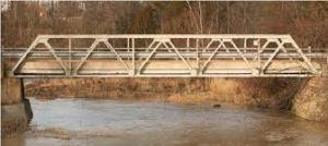 Warren's Truss bridgelike a bird wing