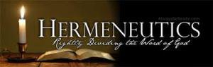 Hermeneutics 2
