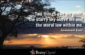Moral law quote