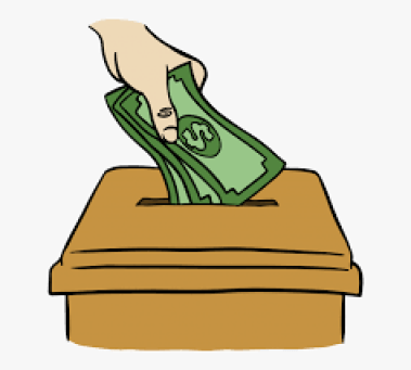 Clipart of donation and how it will help find life purpose