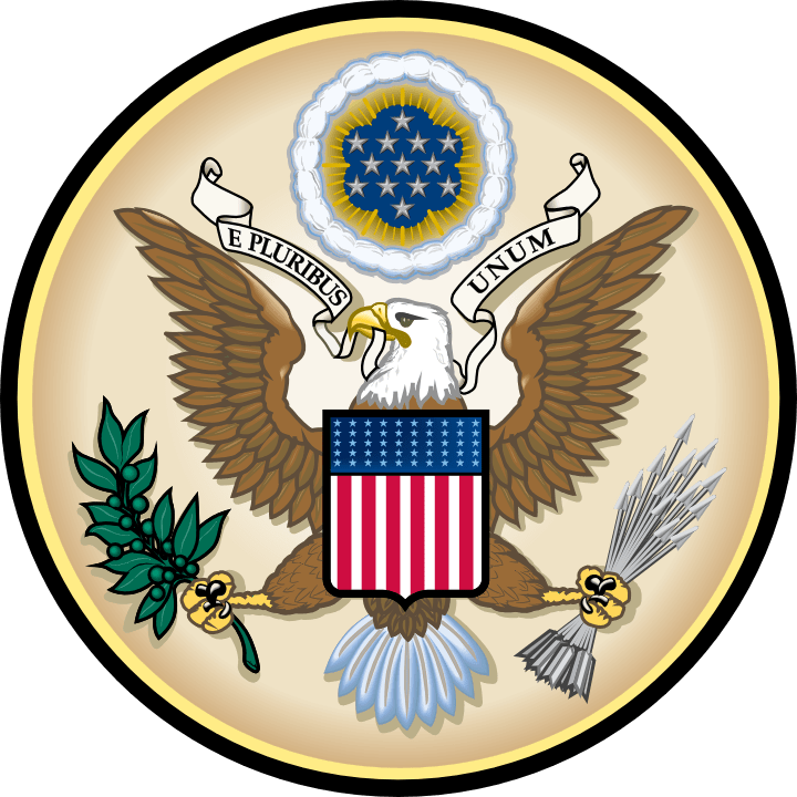 """E pluribus unum, Latin for """"Out of Many, One,"""" is a motto found on the Seal of the United States, along with Annuit cœptis and Novus ordo seclorum, and adopted by an Act of Congress in 1782."""