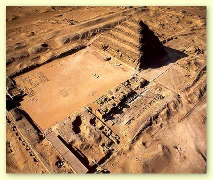 The Djoser Complex in Egypt