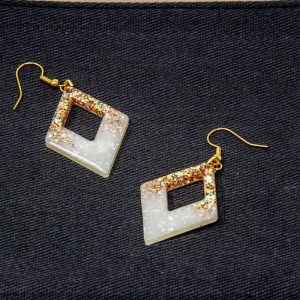 Precious Pearl Diamond Earrings