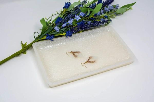 Precious Pearl vanity tray