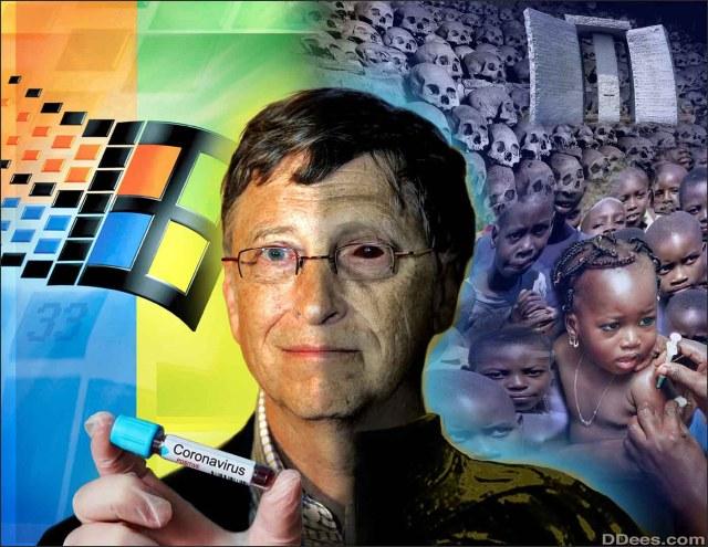 Bill Gates möchte 7 Milliarden Menschen impfen