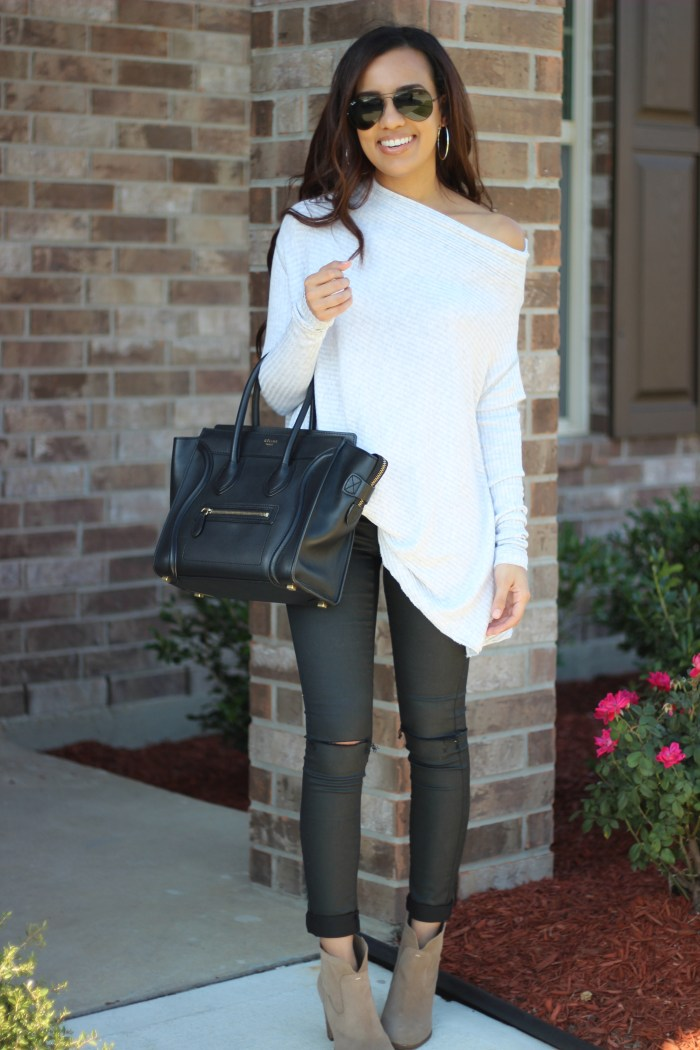 Coated Jeans | Truth or Flares