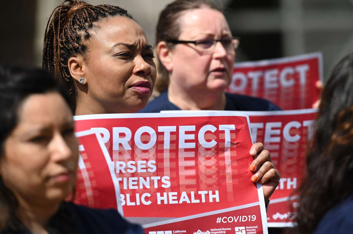 Health Care Workers On Front Lines Of Covid 19 Outbreak