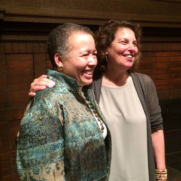 Dr. Beverly Daniel Tatum and Rev. Dr. Andrea Ayvazian at the Truth School launch event (May 4, 2017)