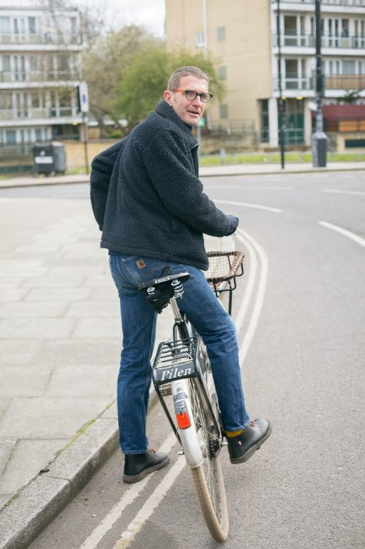Portrait photograph of Guardian journalist Matthew Weaver