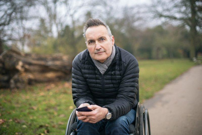 Portrait photograph of BBC Newsnight journalist Richard Watson