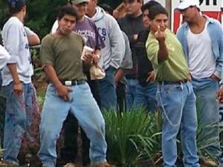 illegals show true colors