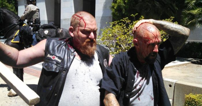 Front Line Footage Of Sacramento Chaos, Stabbings At California Capitol Building  (Video)