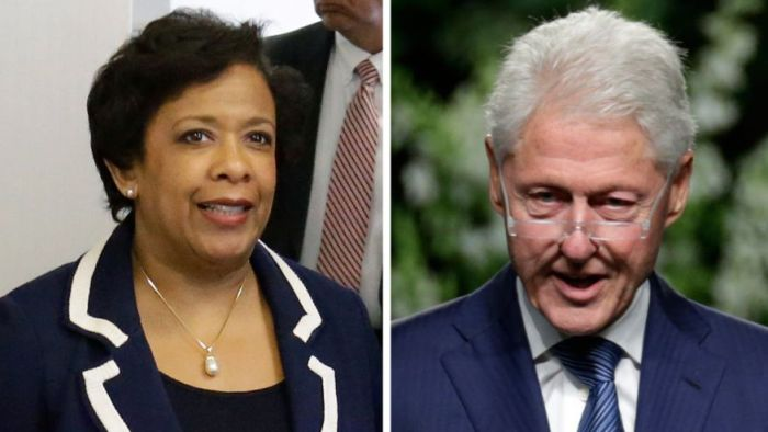 Under Fire After Secret Meeting, Lynch To Step Back From Clinton Probe (Video)