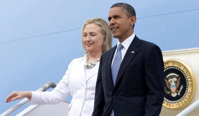 Coincidence! Obama, Hillary Campaign Together On Air Force One On Day Of FBI Announcement