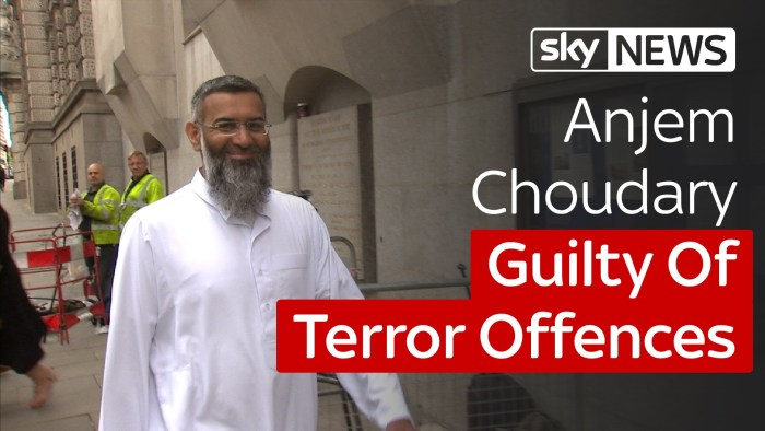 Notorious Hate Preacher Anjem Choudary Convicted Of Supporting Islamic State