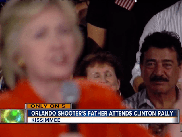 Orlando Terrorist's Father Cheers At Hillary Clinton Rally; Calls For Gun Control