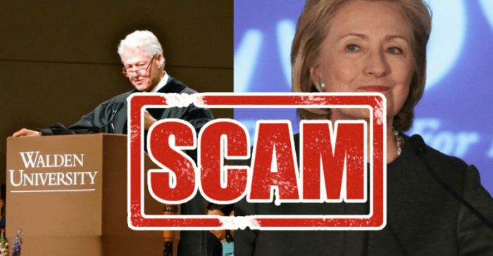 Students Testify Of $16.5 Million 'Clinton University' SCAM! (Video)