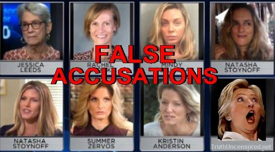 HERE IT IS:  List Of Debunked Groper Allegations By Corrupt Media Against Donald Trump (Video)