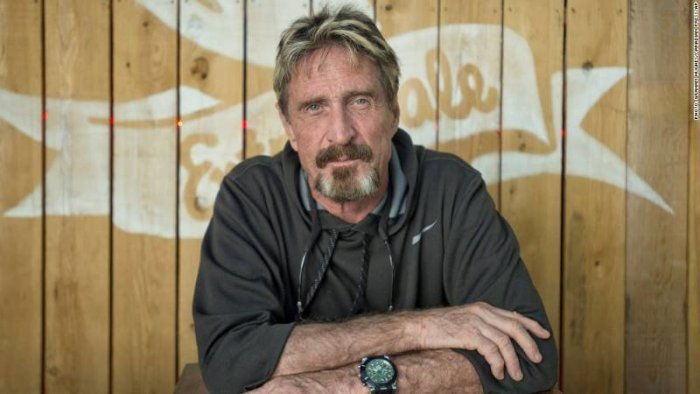 John McAfee: Russia Did Not Hack The DNC (Video)