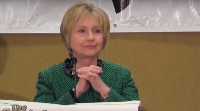Clinton Comeback? Hillary Declares She's 'Ready To Come Out Of The Woods' (VIDEO)